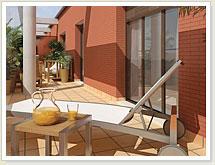 Edificio Avantos. Nueva construcción en el centro de Tomelloso. Aticos y terrazas espaciosas.