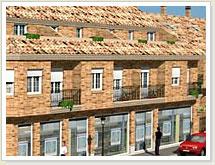 11 dúplex, locales comerciales y garajes + 8 viviendas unifamiliares adosadas y garajes en Tomelloso. Sector 6.